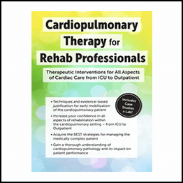 Cindy Bauer – Cardiopulmonary Therapy For The Rehab Professional