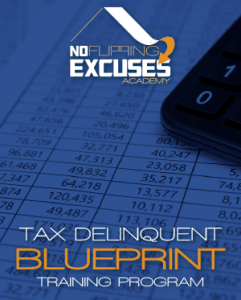 No Flipping Excuses – Tax Delinquent Blueprint