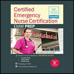 Sean G. Smith – Certified Emergency Nurse Certification – CEN® Exam Prep Package With Practice Test & NSN Access