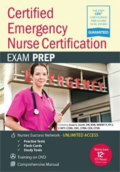 Sean G. Smith - Certified Emergency Nurse Certification - CEN® Exam Prep Package with Practice Test & NSN Access