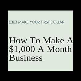 Team AppSumo - How to make a $1,000 a month business