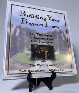 The Wolff Couple – Building Your Buyers Lists