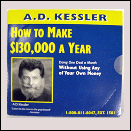 A.D. Kessler - How To Make $130,000 A Year Doing One Deal A Month Without Using Your Own Money