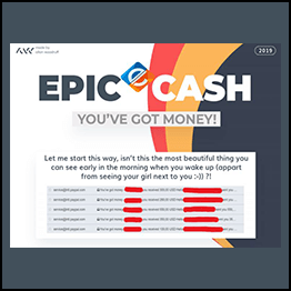 EPIC CASH - You've Got Money! $500 Daily With Private Method in 2019