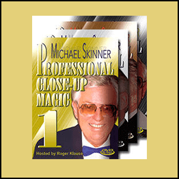 Michael Skinner - Profesional Close Up Magic COMPLETE