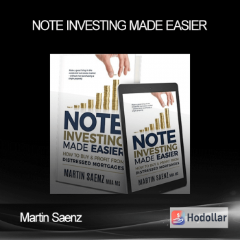 Martin Saenz - Note Investing Made Easier