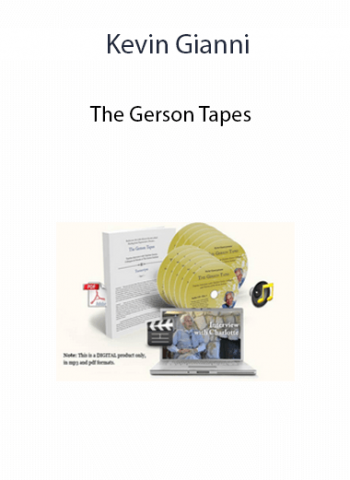 Kevin Gianni - The Gerson Tapes