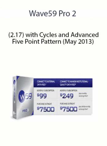 Wave59 Pro 2 - (2.17) with Cycles and Advanced Five Point Pattern (May 2013)