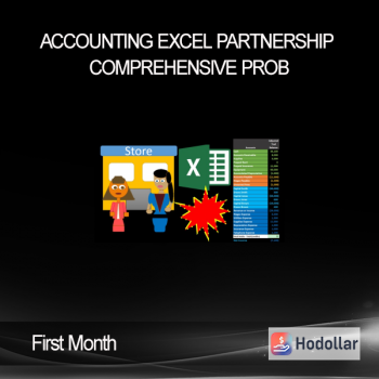 Accounting Excel Partnership Comprehensive Prob - First Month