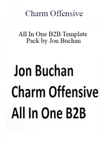 Charm Offensive - All In One B2B Template Pack by Jon Buchan