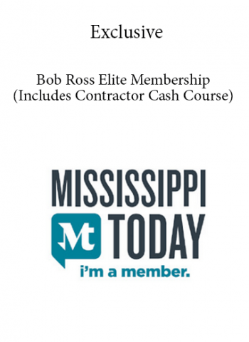 Exclusive - Bob Ross Elite Membership (Includes Contractor Cash Course) - 5 Months Membership Rip