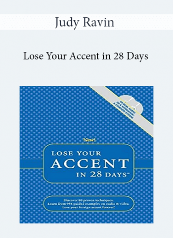 Judy Ravin - Lose Your Accent in 28 Days