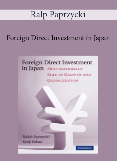Ralp Paprzycki - Foreign Direct Investment in Japan
