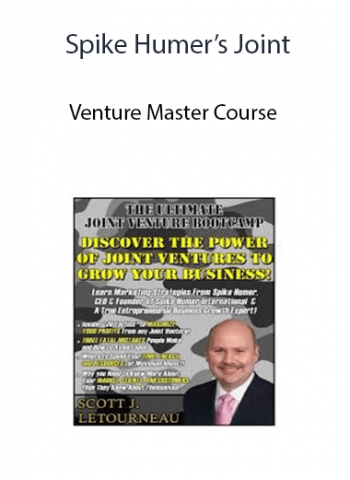 Spike Humer's Joint - Venture Master Course